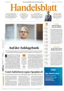 Handelsblatt - 1 Oktober 2020