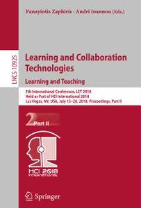 Learning and Collaboration Technologies. Learning and Teaching (Repost)
