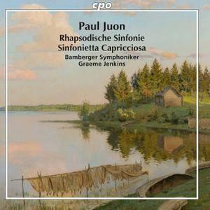 Bamberger Symphoniker & Graeme Jenkins - Juon; Rhapsodische Sinfonie, Op. 95 & Sinfonietta capricciosa, Op. 98 (2017)