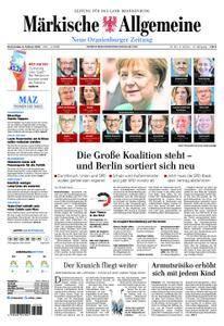 Neue Oranienburger Zeitung - 08. Februar 2018