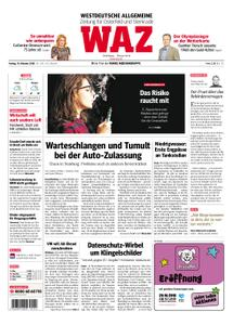 WAZ Westdeutsche Allgemeine Zeitung Oberhausen-Sterkrade - 19. Oktober 2018
