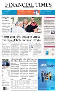 Financial Times Asia - November 20, 2019