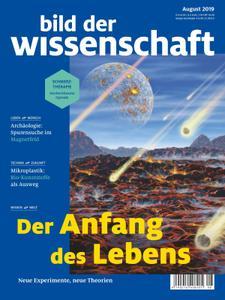 Bild der Wissenschaft – August 2019
