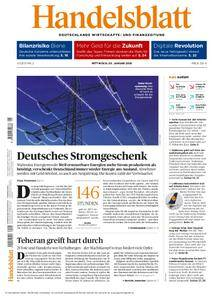 Handelsblatt - 03. Januar 2018