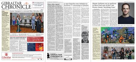 Gibraltar Chronicle – 08 July 2021