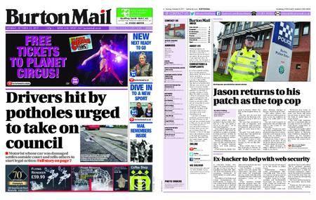 Burton Mail – October 23, 2017