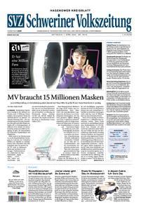 Schweriner Volkszeitung Hagenower Kreisblatt - 01. April 2020