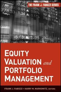 Equity Valuation and Portfolio Management (repost)