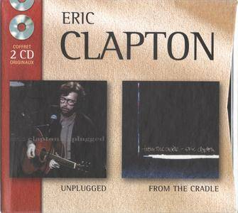 Eric Clapton - Coffret 2CD Originaux: Unplugged + From The Cradle (2002) {2CD Set Warner France WE8865 rec 1992, 1994}