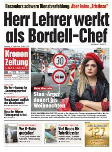 Kronen Zeitung - 3 September 2019