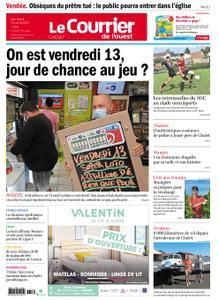Le Courrier de l'Ouest Cholet – 13 août 2021