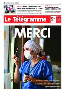 Le Télégramme Brest Abers Iroise – 24 avril 2020