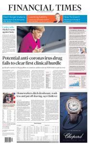 Financial Times Europe - April 24, 2020