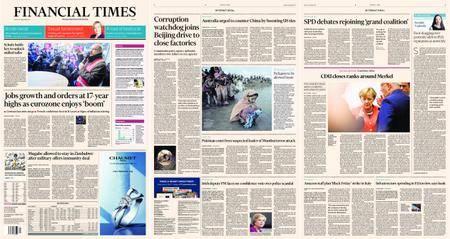 Financial Times Europe – 24 November 2017