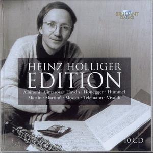 Heinz Holliger Edition: Albinoni, Cimarosa, Haydn, Honegger, Hummel, Martin, Martinů, Mozart, Telemann, Vivaldi (2012) (Repost)