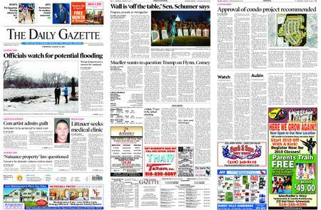 The Daily Gazette – January 24, 2018