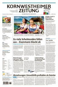 Kornwestheimer Zeitung - 29. September 2018