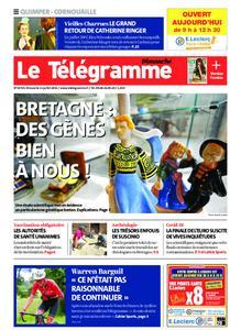 Le Télégramme Ouest Cornouaille – 11 juillet 2021