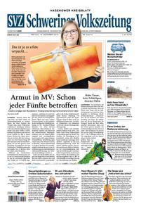 Schweriner Volkszeitung Hagenower Kreisblatt - 13. Dezember 2019