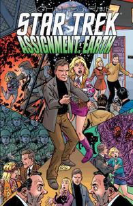 IDW-Star Trek Assignment Earth 2014 Hybrid Comic eBook