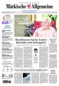 Märkische Allgemeine Zossener Rundschau - 31. Mai 2018