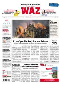 WAZ Westdeutsche Allgemeine Zeitung Buer - 16. April 2019