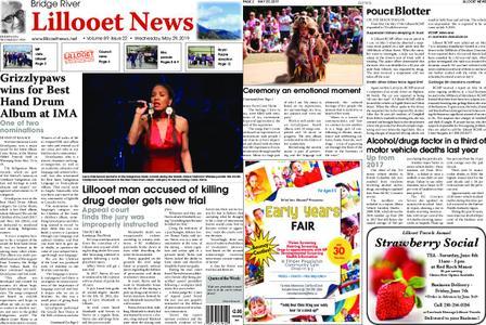 Bridge River Lillooet News – May 29, 2019