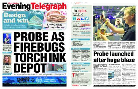Evening Telegraph First Edition – February 12, 2018