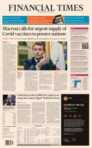 Financial Times Asia - February 19, 2021