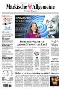 Märkische Allgemeine Westhavelländer - 04. Oktober 2017