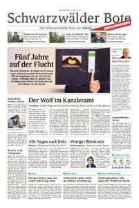 Schwarzwälder Bote Blumberg - 09. Mai 2019
