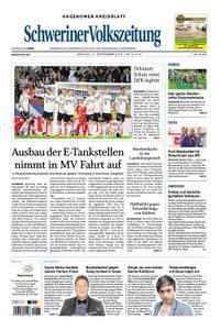 Schweriner Volkszeitung Hagenower Kreisblatt - 10. September 2018