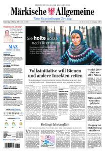 Neue Oranienburger Zeitung - 14. Februar 2019