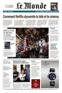 Le Monde du Dimanche 13 et Lundi 14 Mai 2018