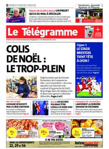 Le Télégramme Brest Abers Iroise – 17 décembre 2020