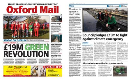 Oxford Mail – December 16, 2019