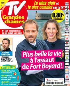 TV Grandes chaînes - 24 Juillet 2021