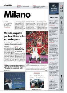 la Repubblica Milano - 13 Maggio 2018