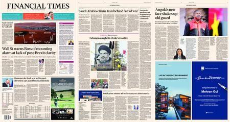 Financial Times Europe – 08 November 2017