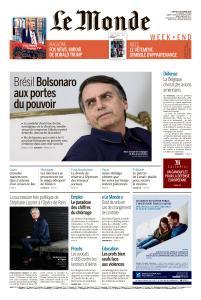 Le Monde du Samedi 27 Octobre 2018