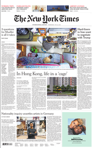 International New York Times - 24 July 2019