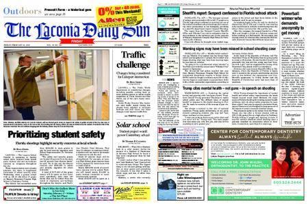 The Laconia Daily Sun – February 16, 2018