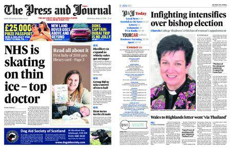 The Press and Journal Moray – January 10, 2018