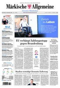 Märkische Allgemeine Zossener Rundschau - 13. September 2018