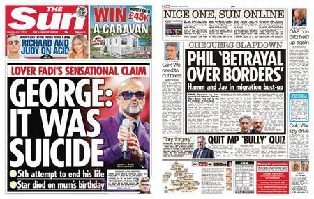 The Sun UK – 21 July 2018