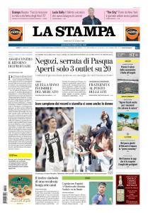 La Stampa Torino Provincia e Canavese - 21 Aprile 2019