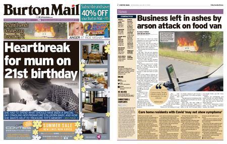 Burton Mail – August 12, 2020