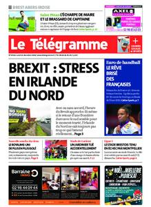 Le Télégramme Brest Abers Iroise – 21 décembre 2020