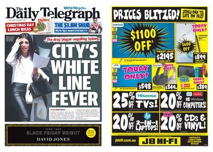 The Daily Telegraph (Sydney) – November 29, 2019