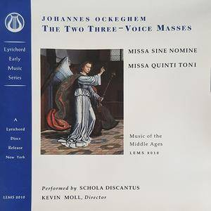 Kevin Moll, Schola Discantus - Ockeghem: The Two Three-Voice Masses (1995) Re-Up